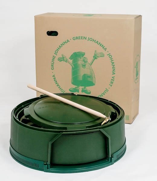 Gröna Johanna originalkompost komplett med omrörningsstav